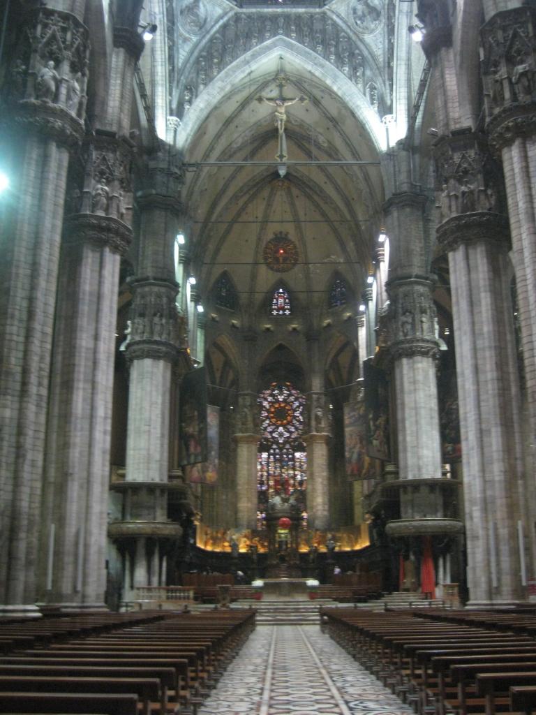Inside of the Duomo