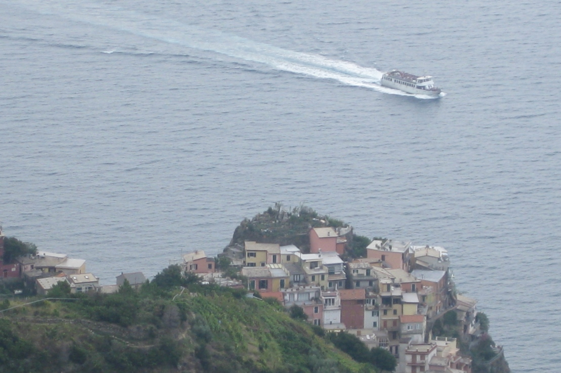 hiking on cinqueterre