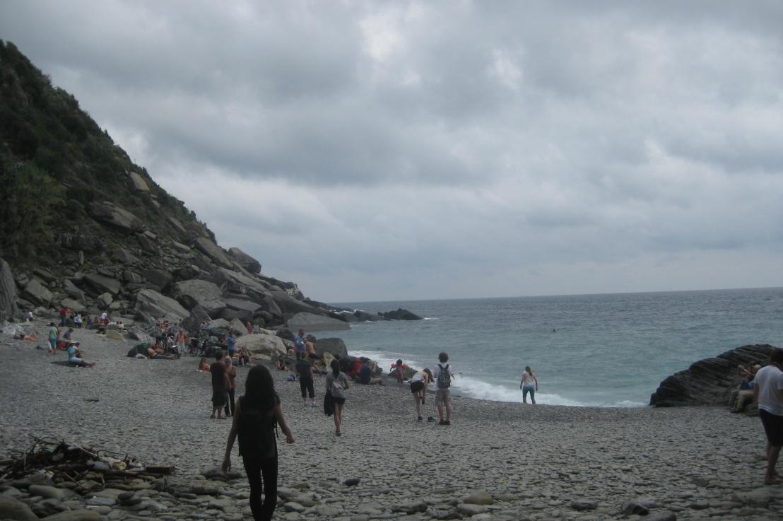 a beach invernazza