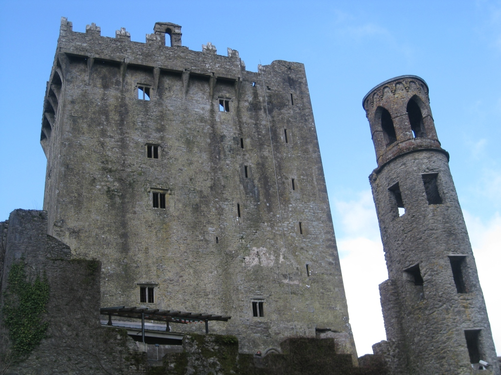 The Blarney Castle in Country Cork