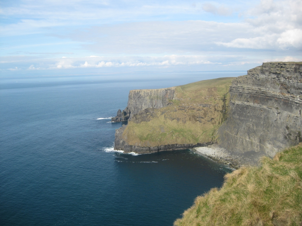 The Cliffs of Moher in County Clare