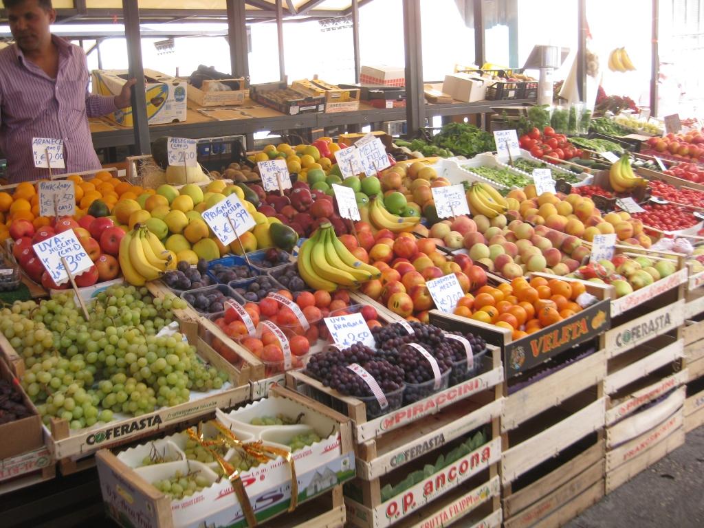 Produce at the Rialto Markets
