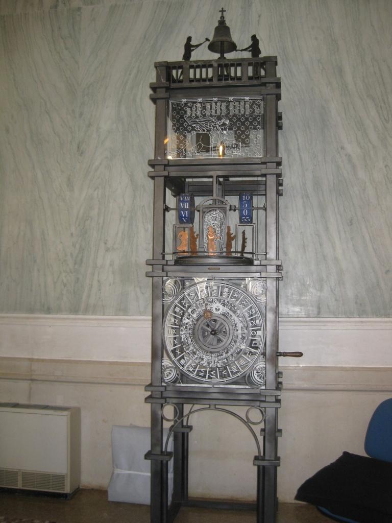 Replica of the Torre dell'Orologio