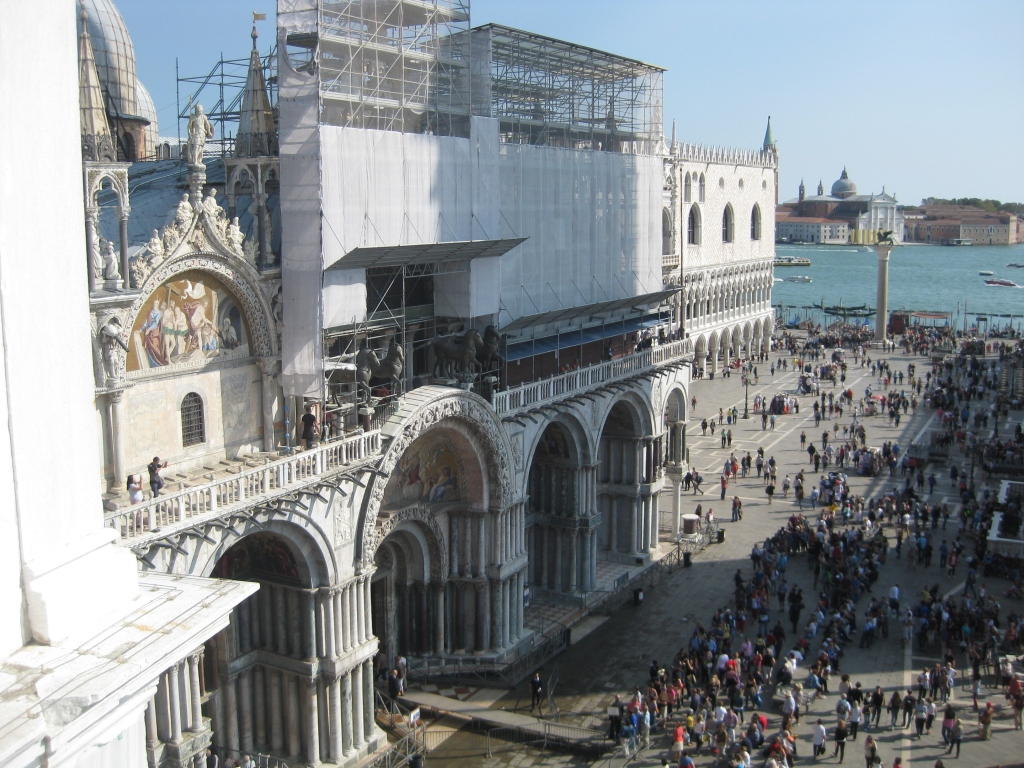 San Marco Basilica as seen from the Torre dell'Orologio