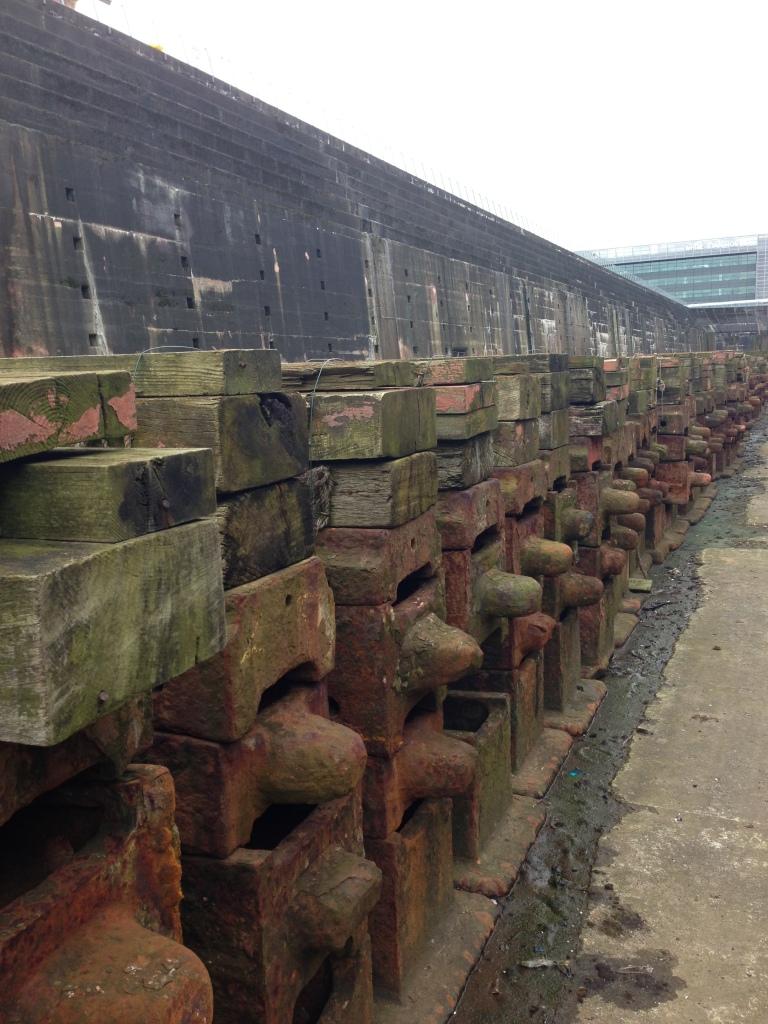 Dockyard where the Titanic was build, in Belfast