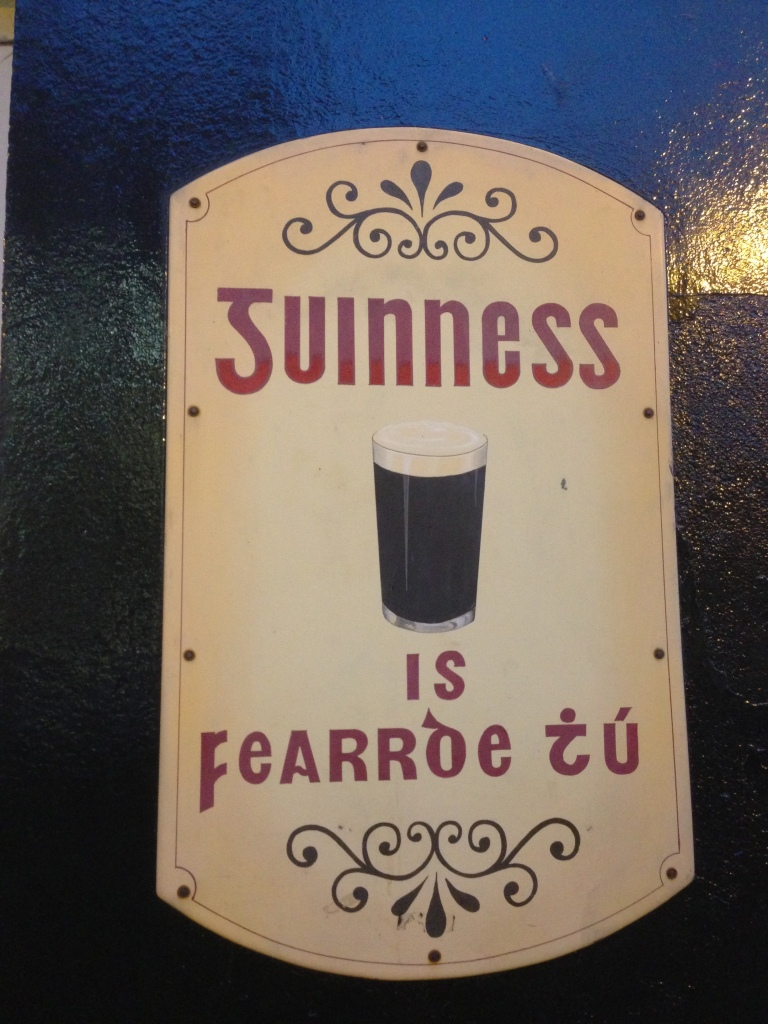 """""""Guinness is good for you!"""""""