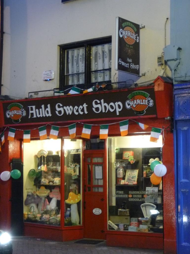 Sweet shop in Killarney