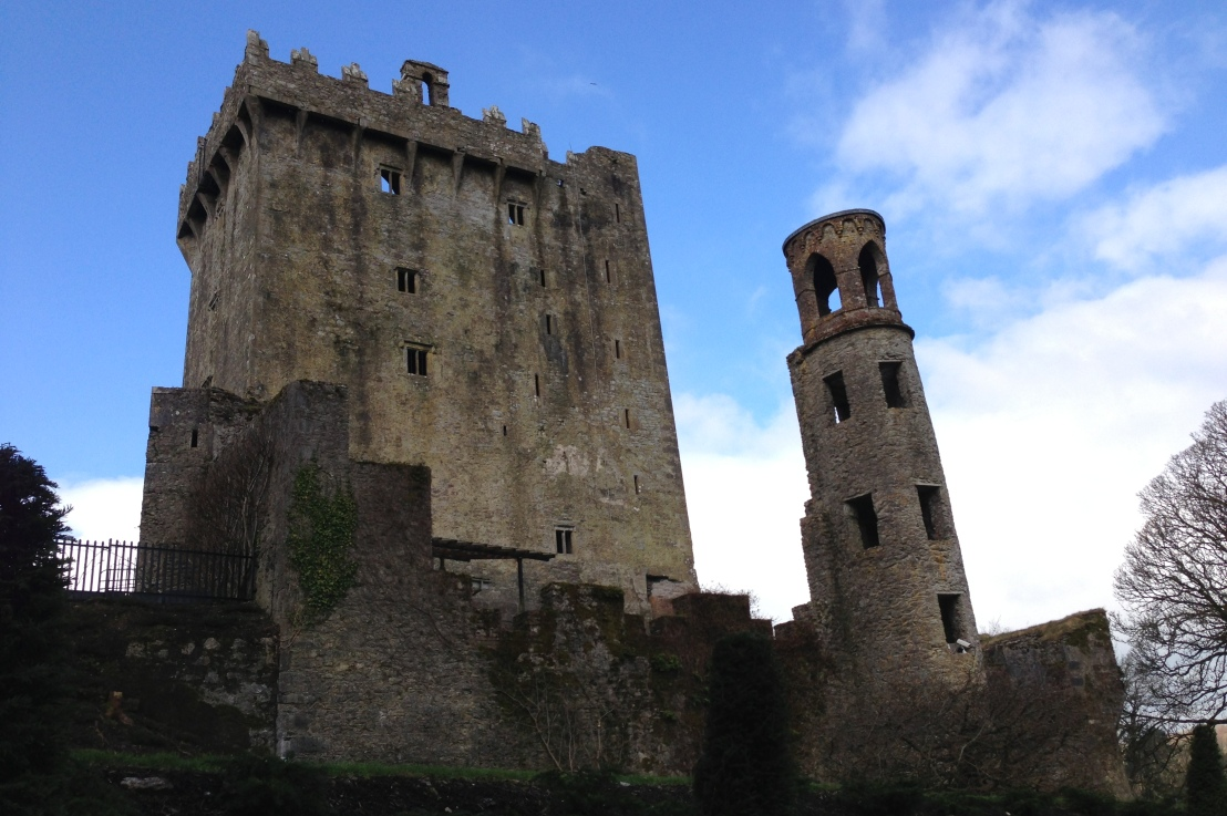 kissing the blarney stone (and a million otherpeople)