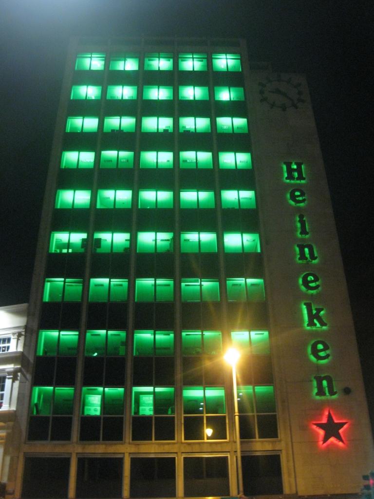 Who knew Heineken was here?!