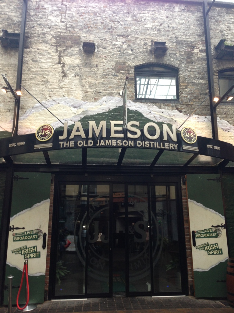 Entrance to the Old Jameson Distillery