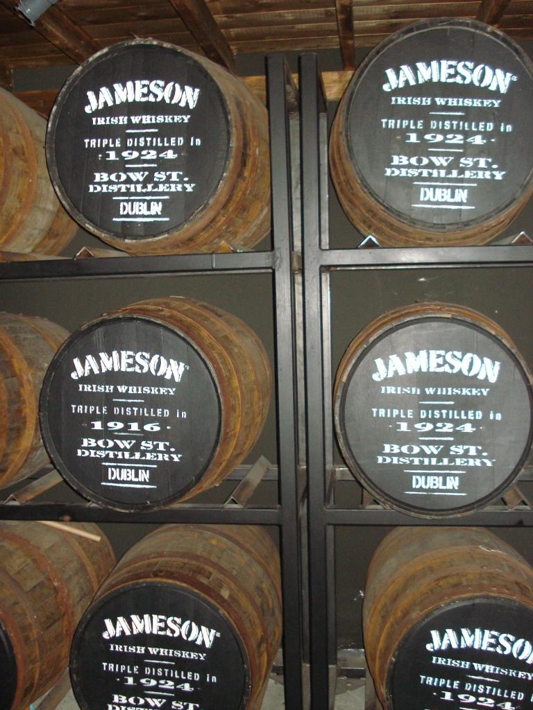 Barrels on barrels on barrels