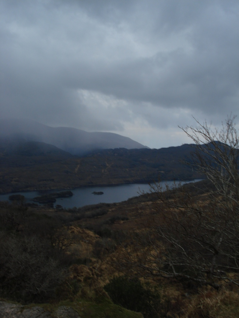 """Scenic point by the Lakes of Killarney called, """"Ladies' View"""""""