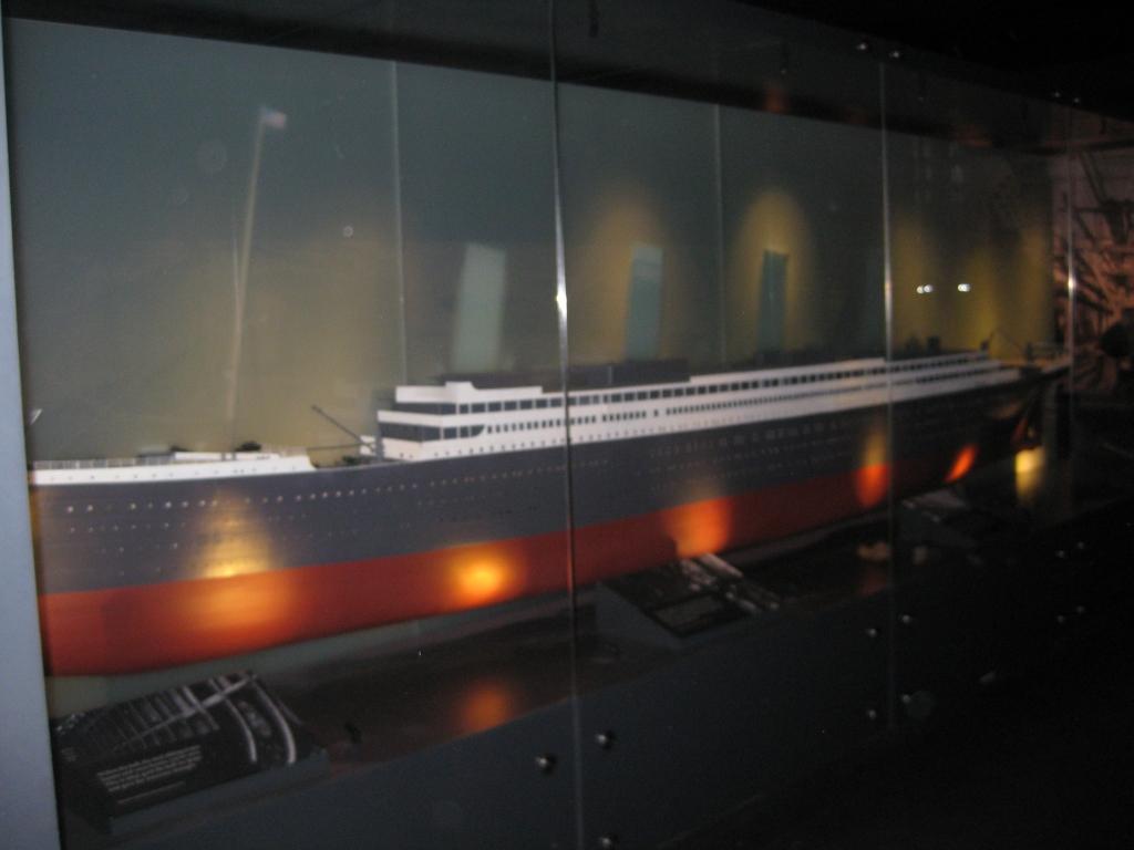 Small Titanic replica