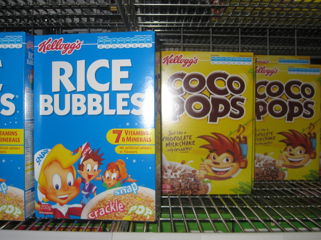 You won't find 'Rice Krispies' or 'Cocoa Krispies' here!