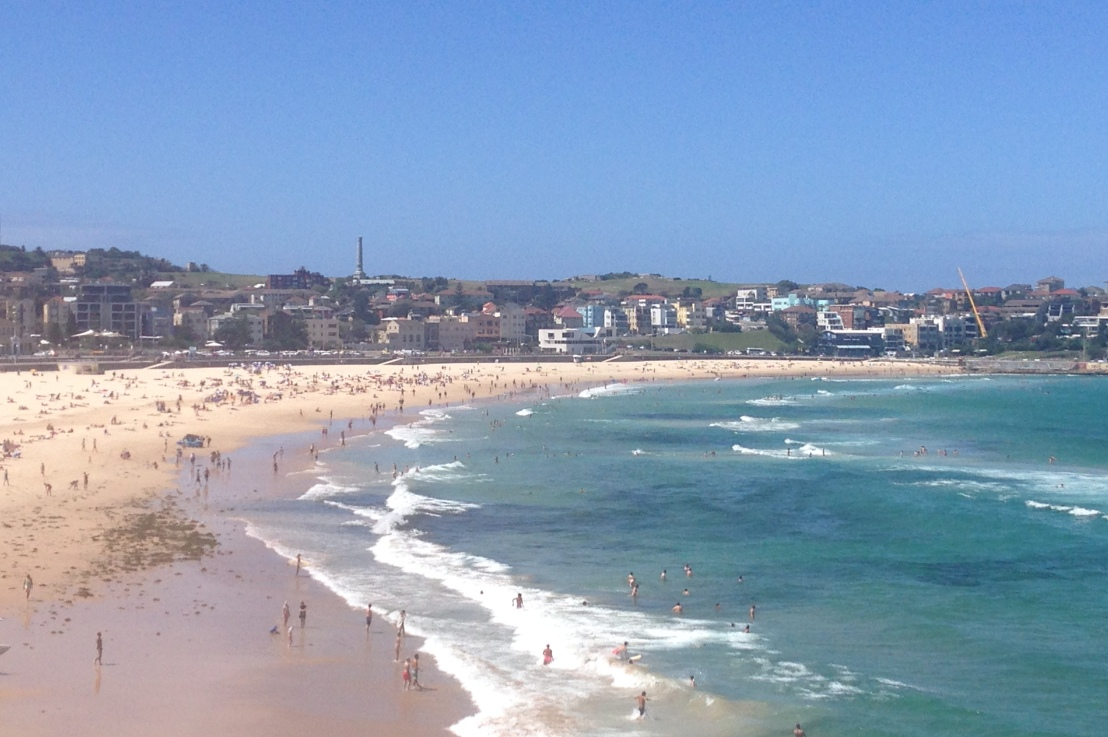 you wouldn't be a true tourist if you didn't visit bondibeach