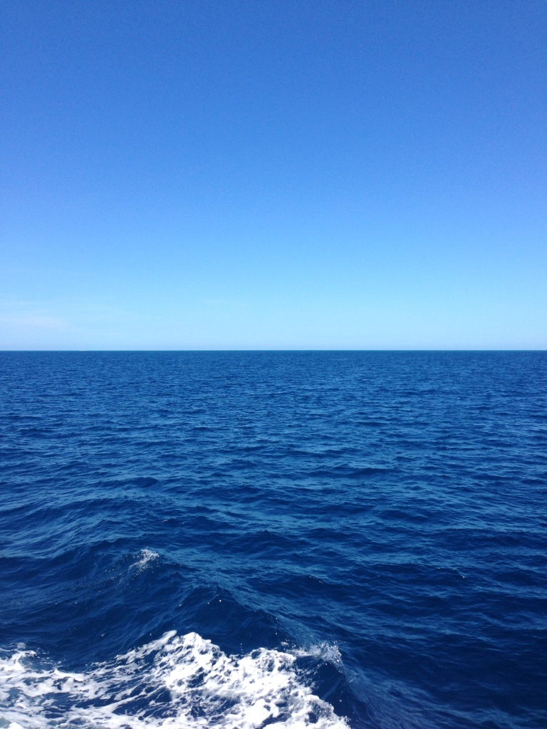 This beautiful weather out on the reef!