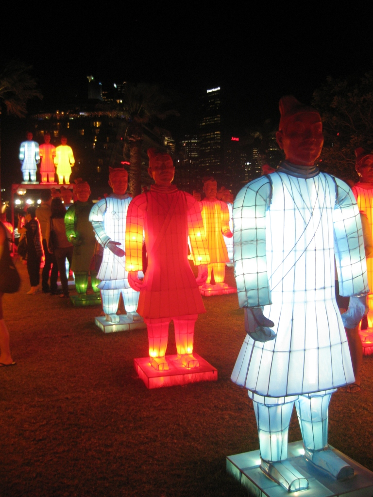 Terracotta Warriors at Dawes Point