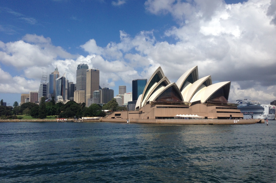 how to get the best view of the sydneyskyline