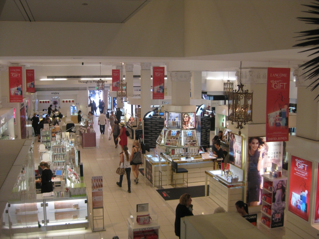 David Jones department store