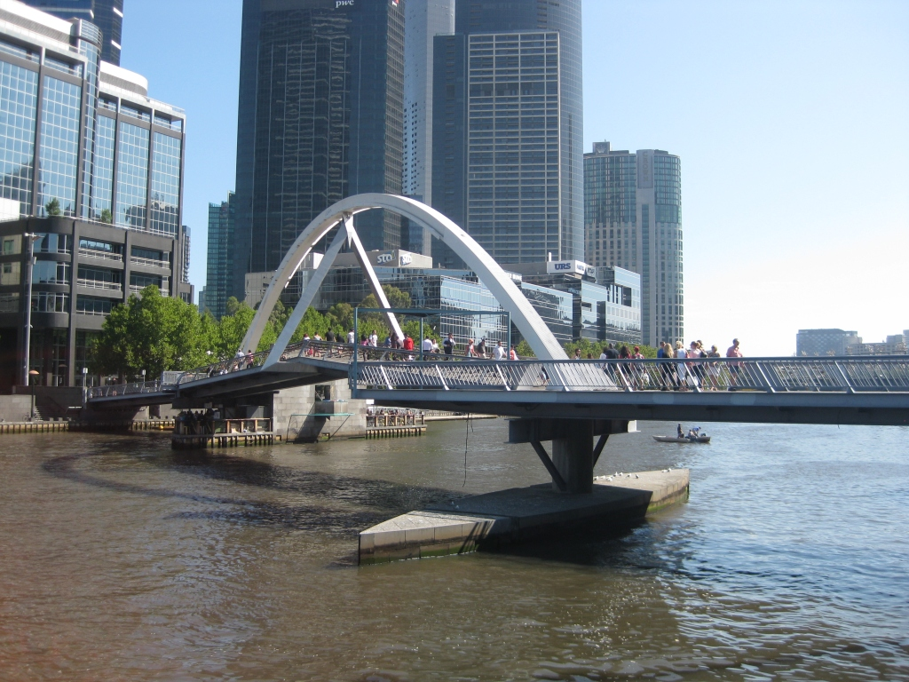 Yarra River - this river cuts right through Melbourne. You won't miss it. You'll even see it way up on the Eureka Skydeck!