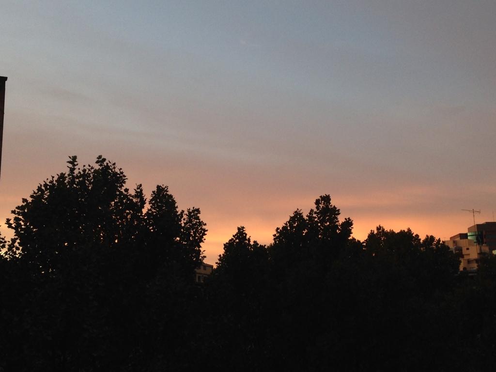 Last sunrise in Australia