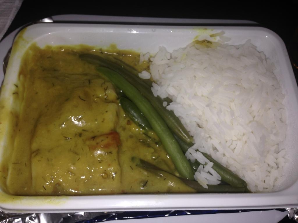 Curry barramundi