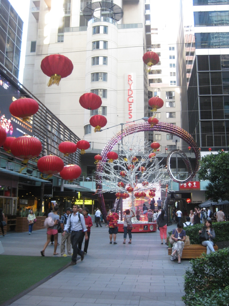 World Square Mall decked out for Chinese New Year