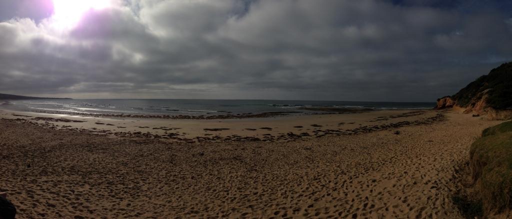 Urquhart's Bluff - a popular spot for surfing