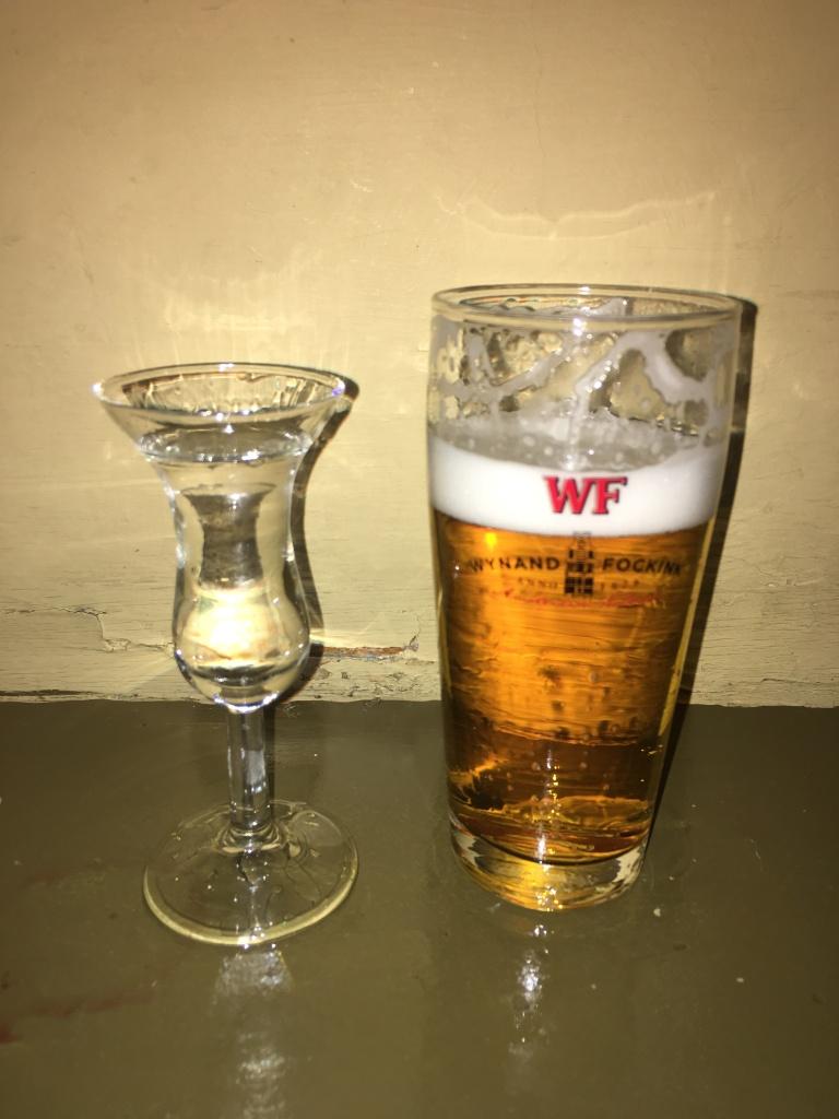 After sip at Proeflokaal Wynand Fockink