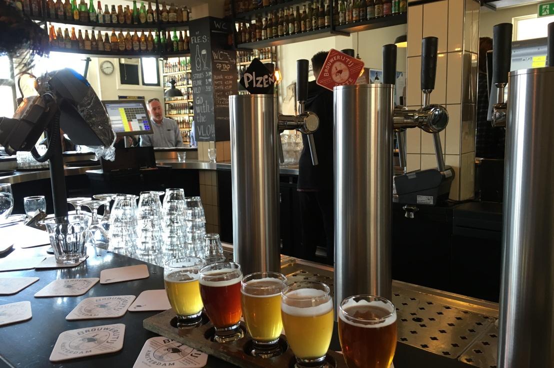 the most popular brewery in amsterdam (hint: it's notheineken)