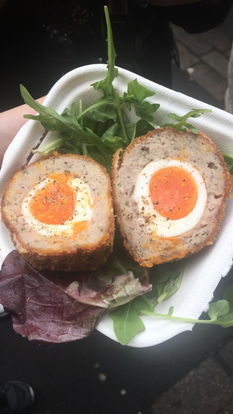 Scotch egg @ Scotchtails in Borough Market