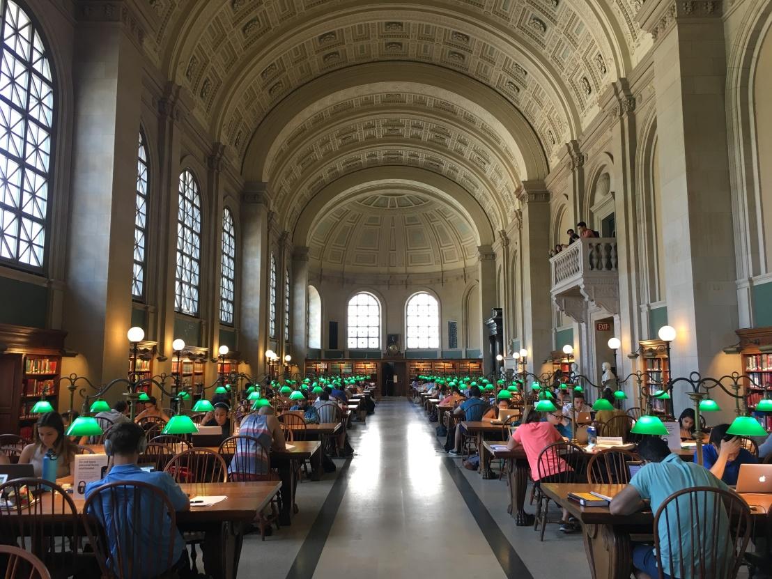 Boston Public Library 5
