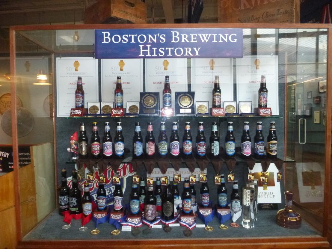 Samuel Adam's Brewery 011