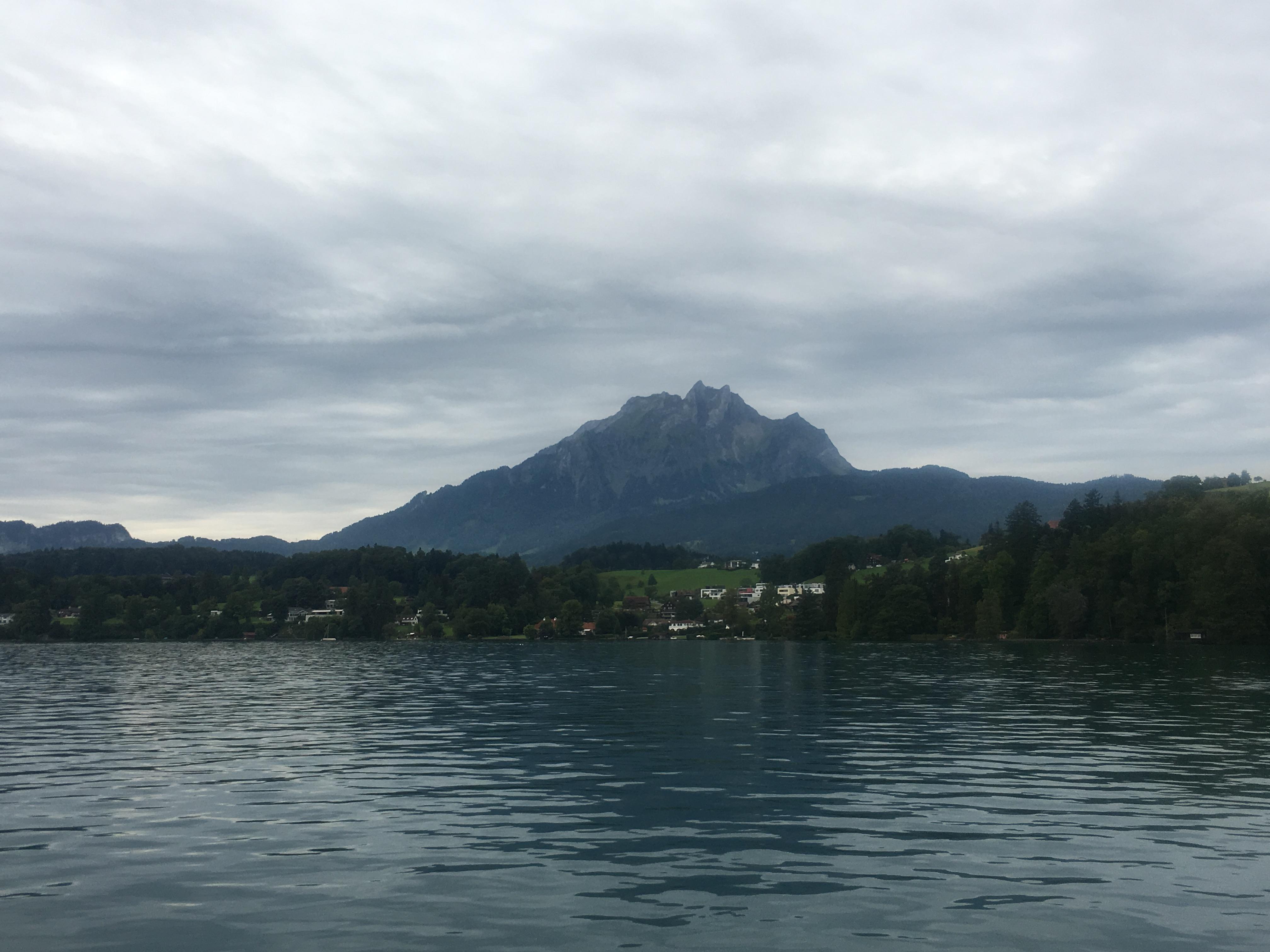 Boat to Alpnachstad 14