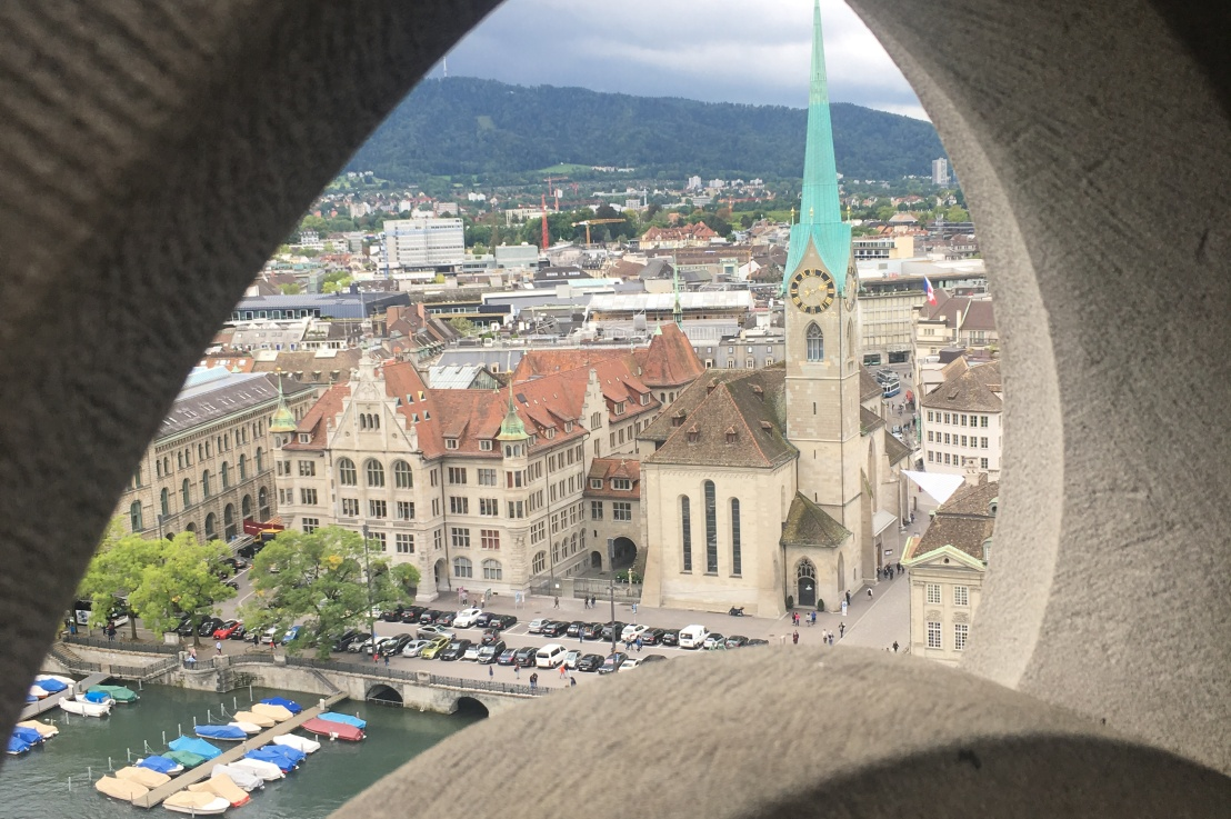 how to be a tourist inzürich