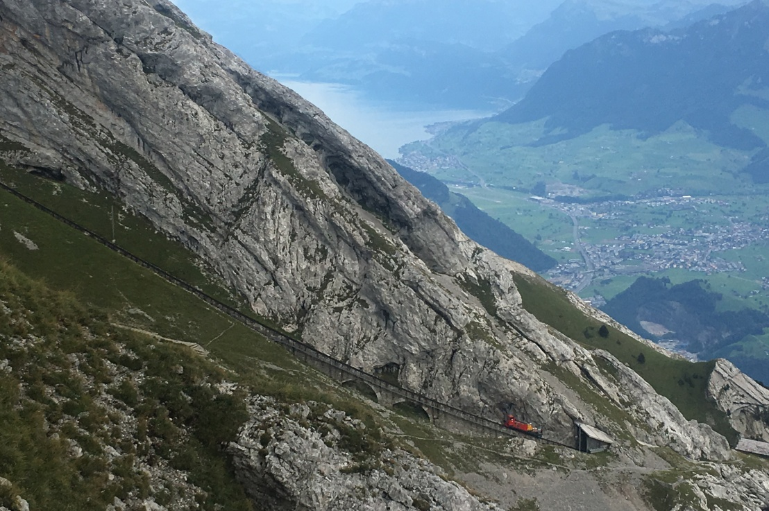 the steepest cog railway in theworld