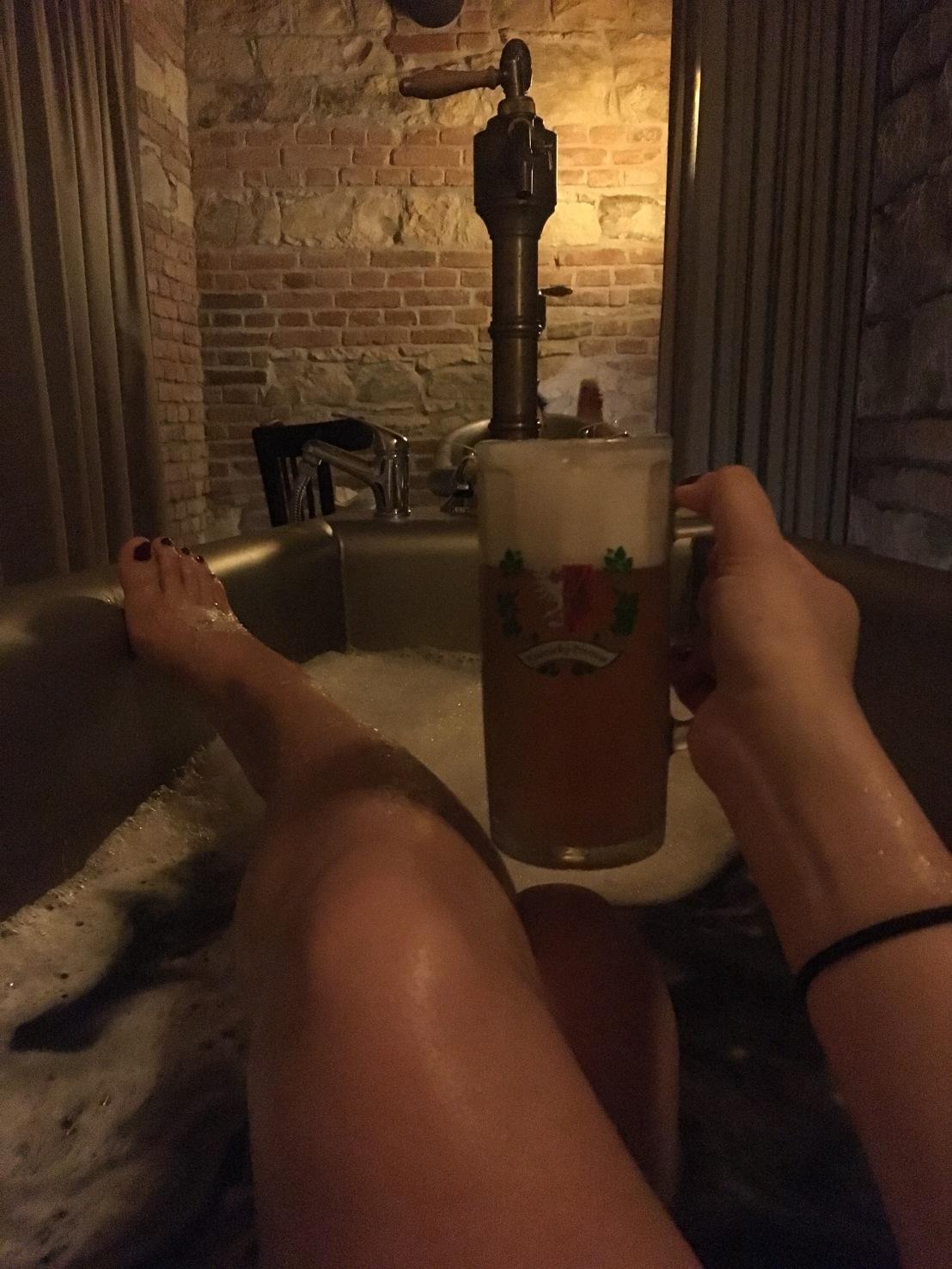 Beer Bath @ Hotel Vinohradsky Dum 5