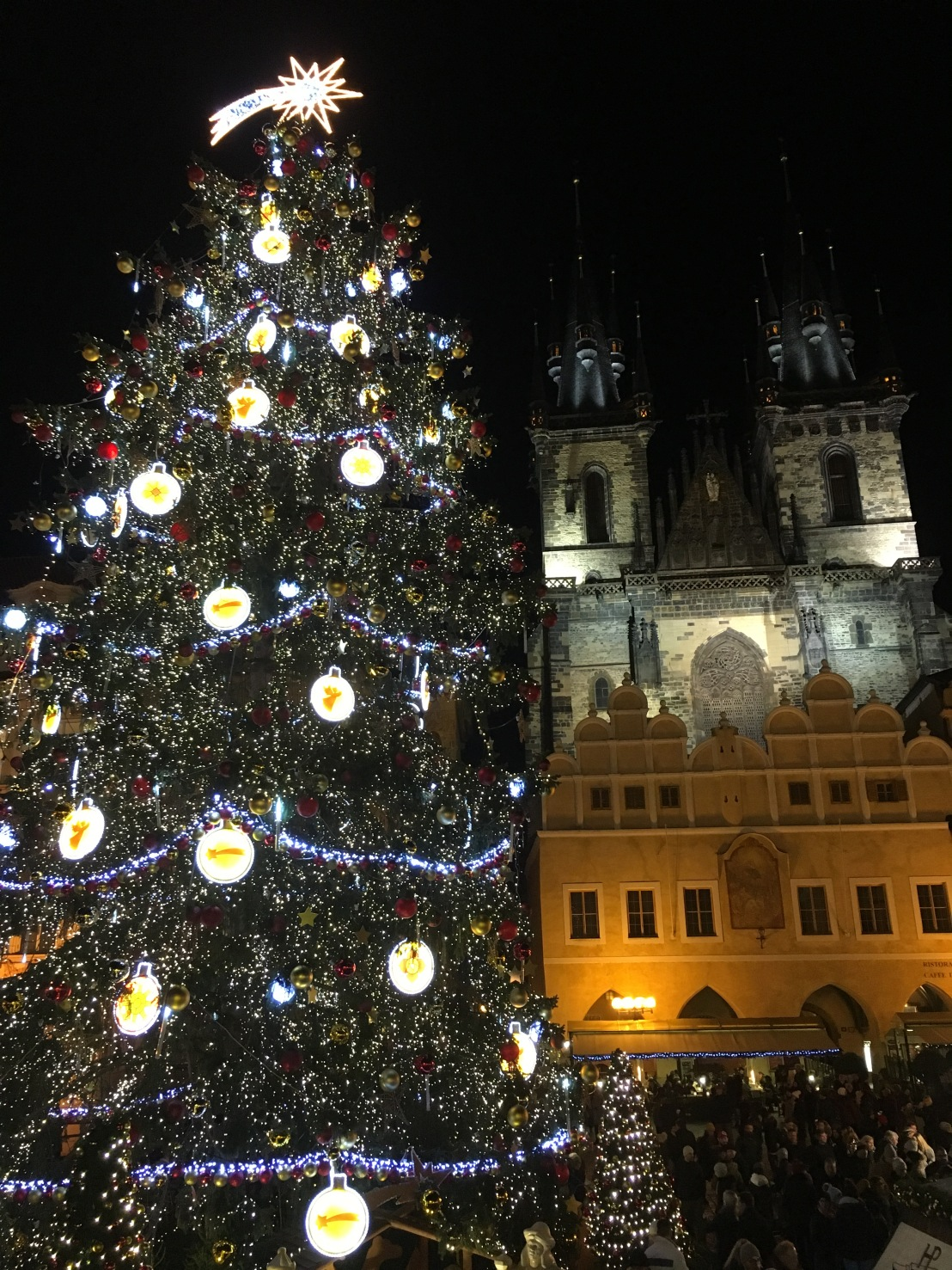 Prague Astronomical Clock:Old Town Square Christmas Market 33