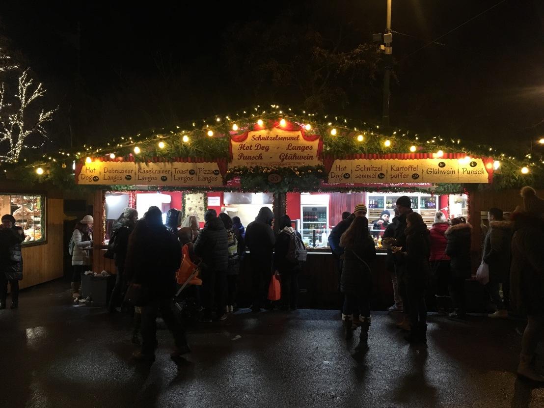Rathausplatz Christmas Market at Night 44