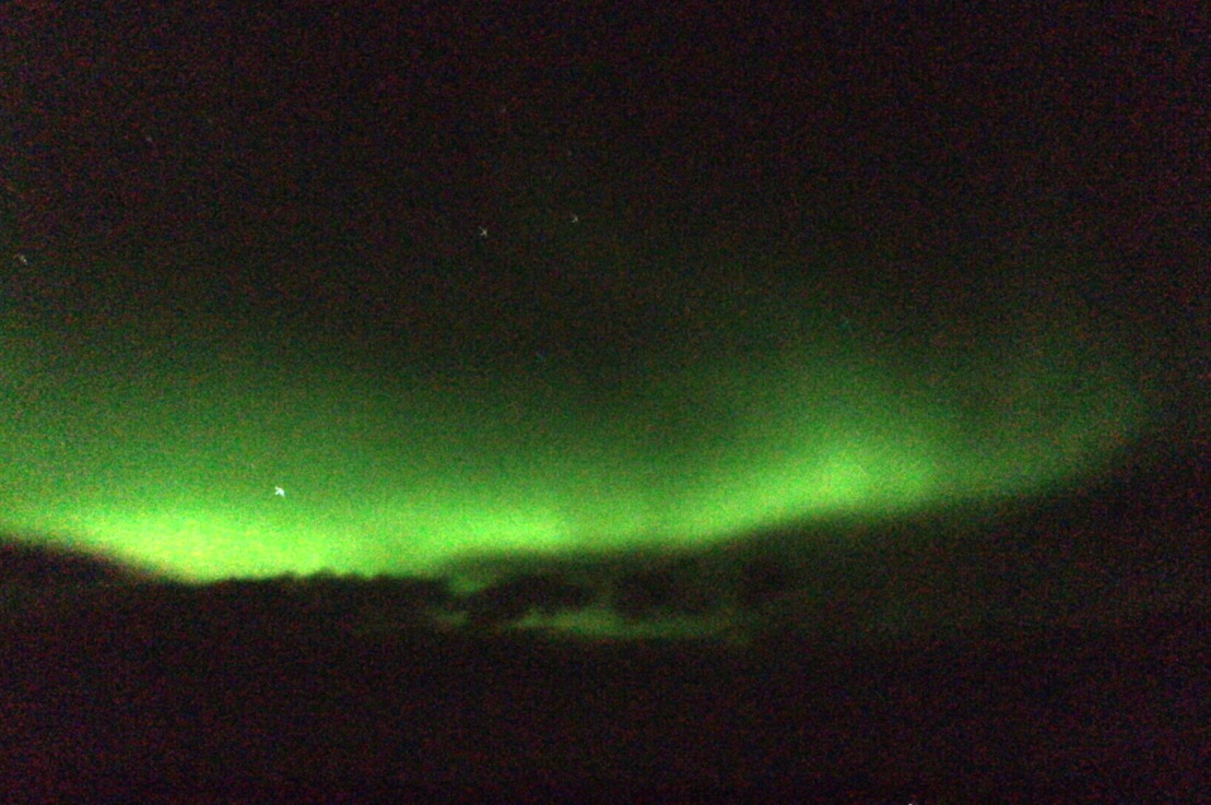 what it's like to see the northernlights