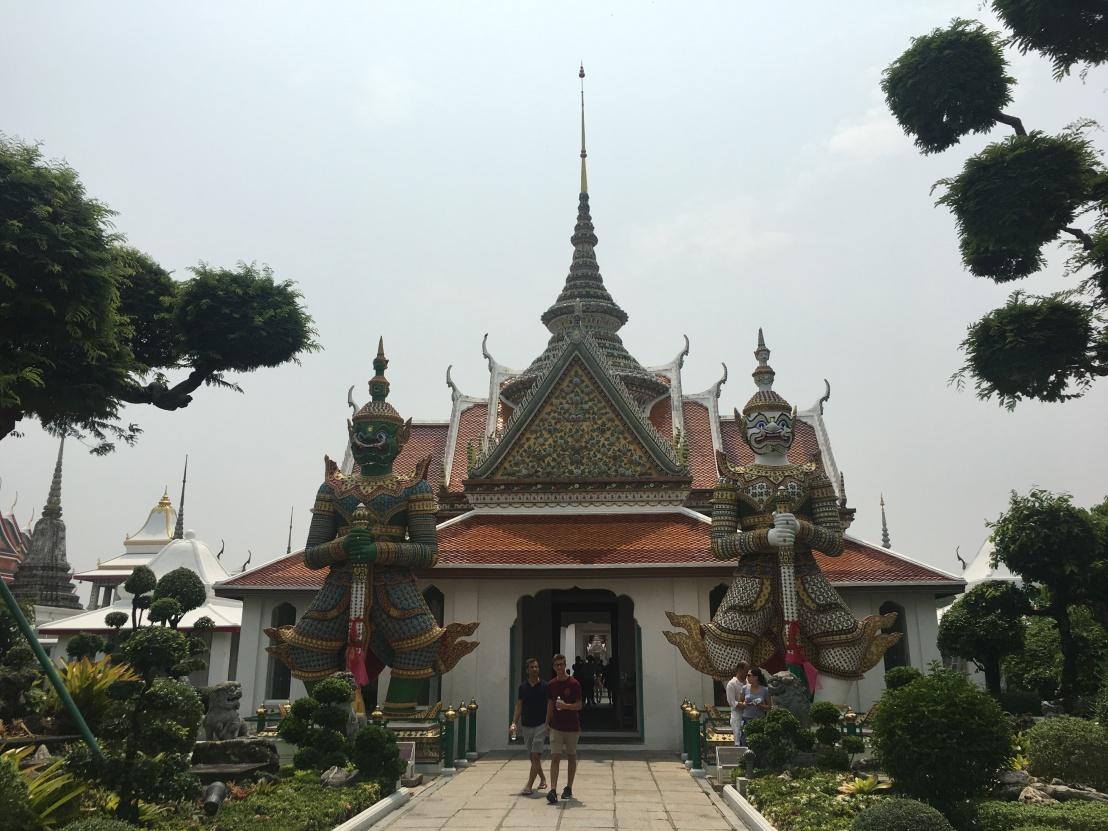 Day 1 - Bangkok - Wat Arun 7