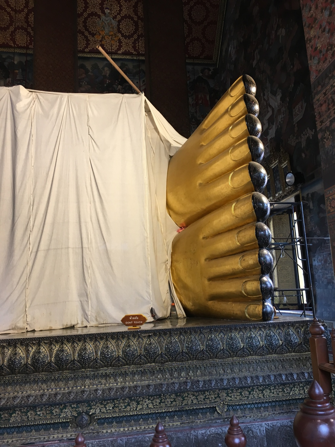 Day 1 - Bangkok - Wat Pho Big Buddha 26