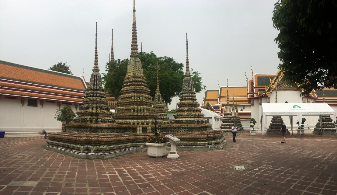 Day 1 - Bangkok - Wat Pho Big Buddha 4