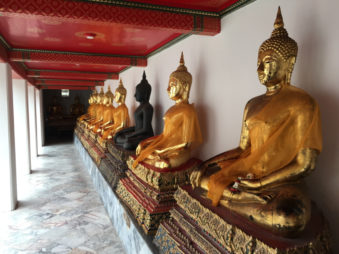 Day 1 - Bangkok - Wat Pho Big Buddha 57