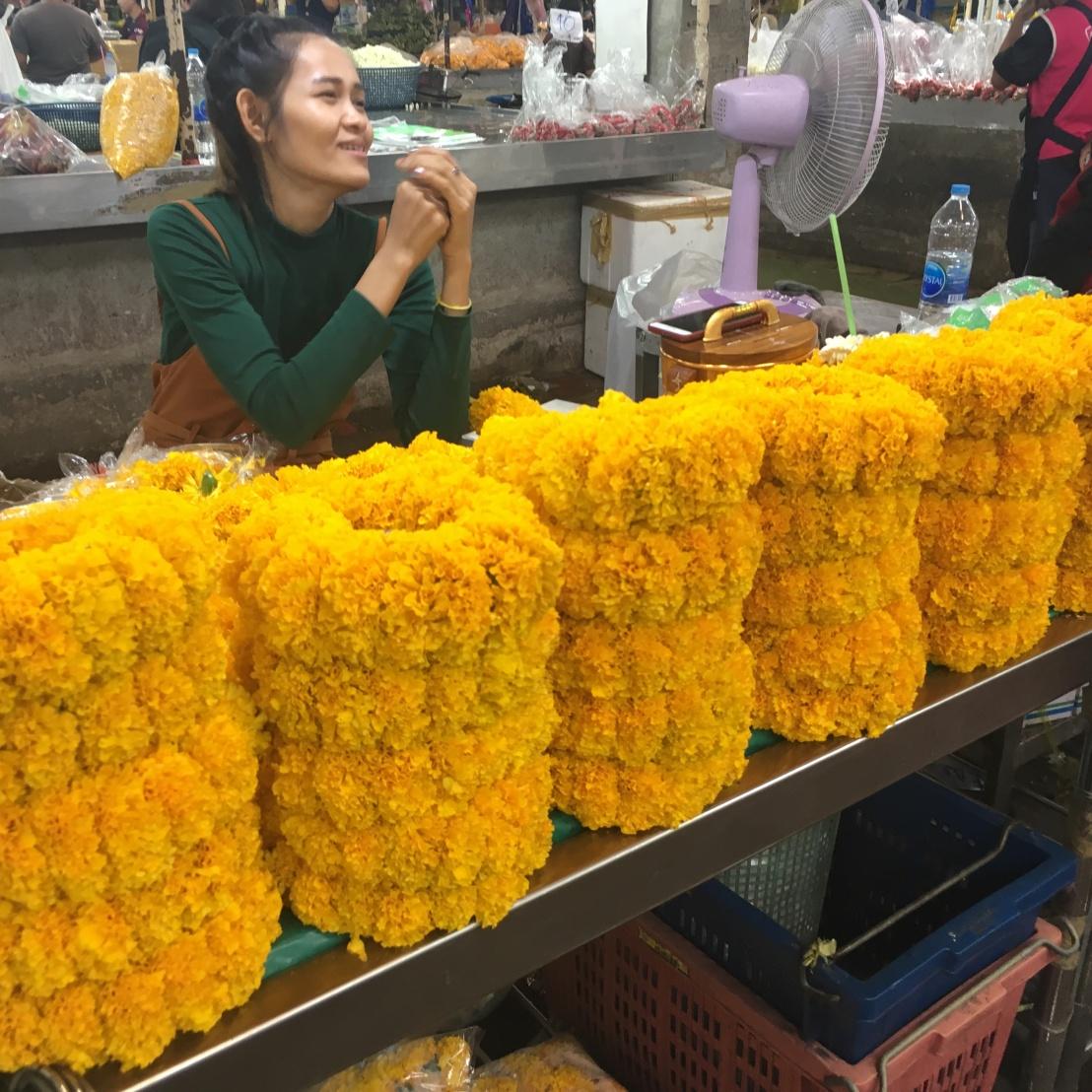 Day 1 - Bangkok - Pak Khlong Flower Market 5