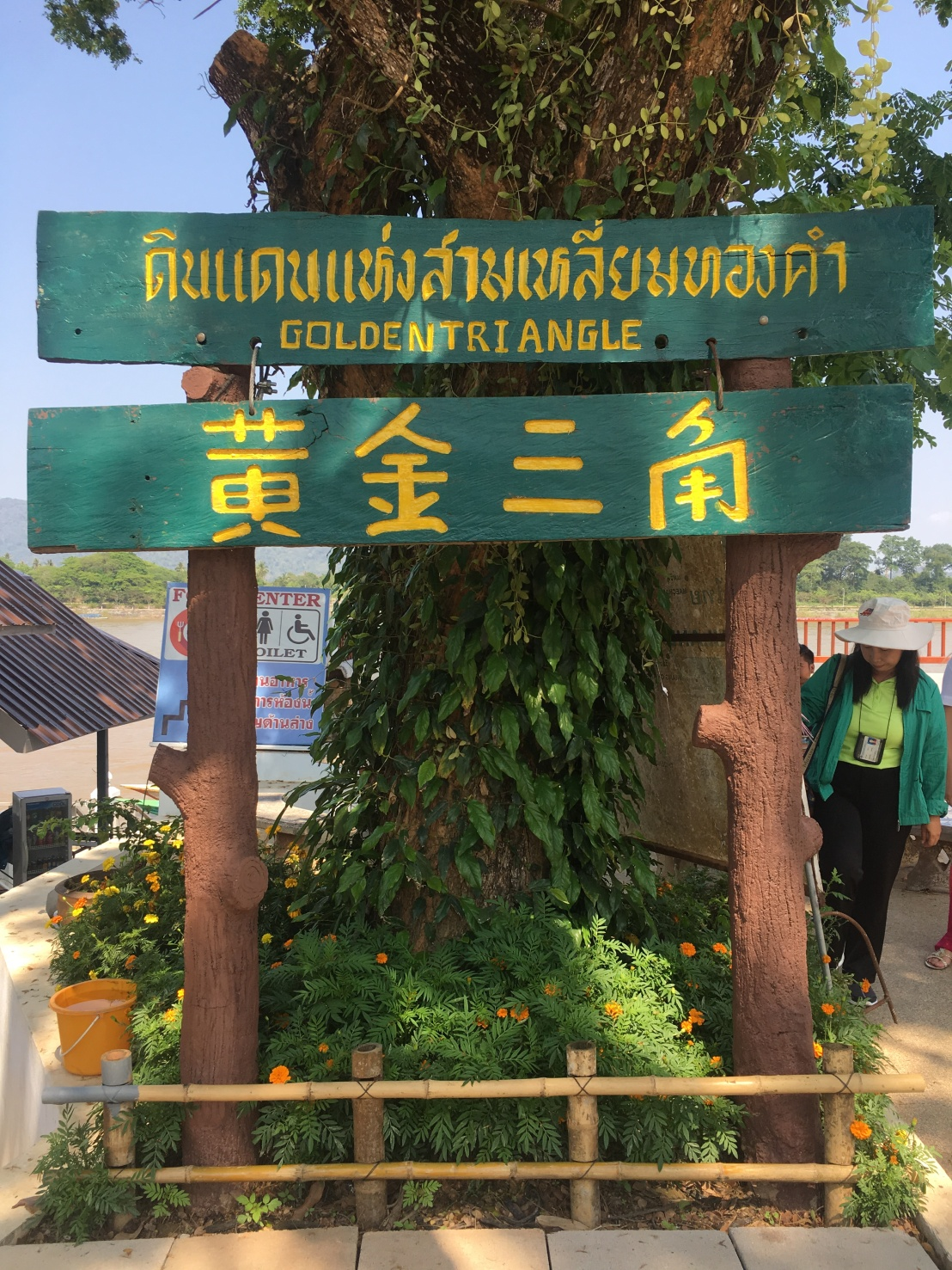 Thawee Hot Springs:White Temple:Wat Chedi Luang:Golden Triangle 92