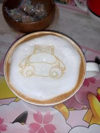 Snorlax latte