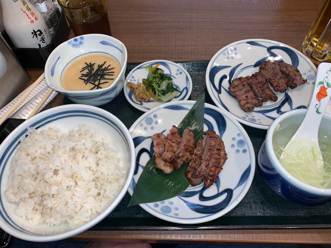 Dinner @ Gyutan Negishi Kinshicho 3