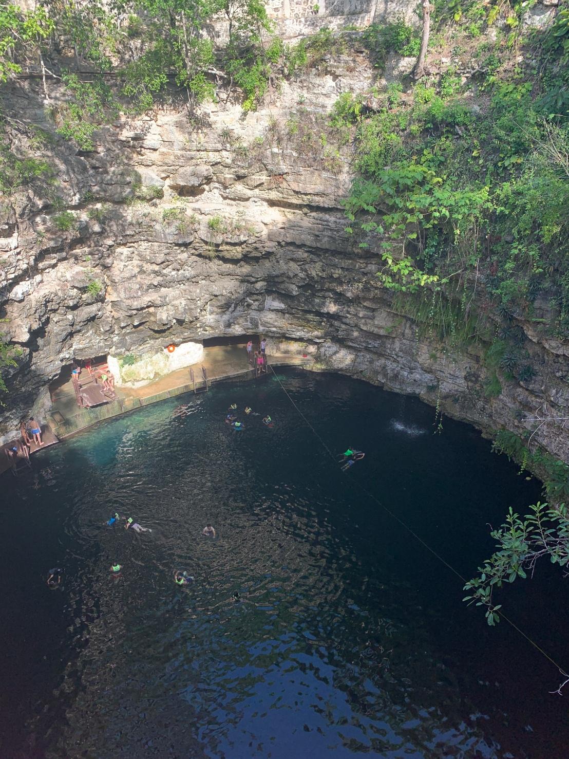 Chichen Itza:Xcajum Cenote 311