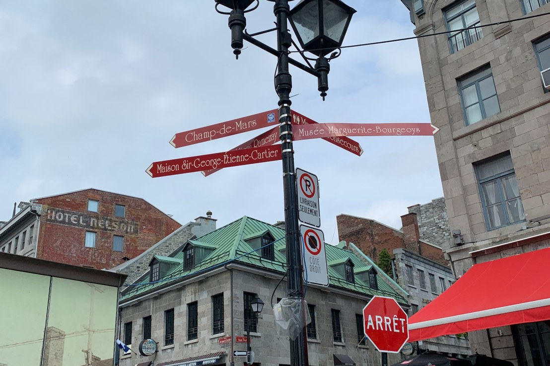 how to be a tourist inmontreal